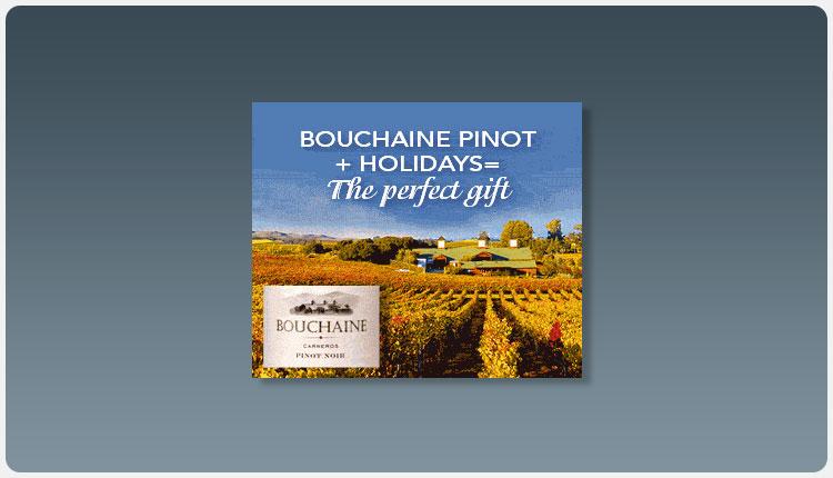 Bouchaine Holiday Banner