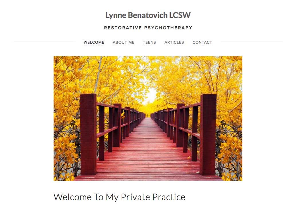 Lynne Benatovich LCSW