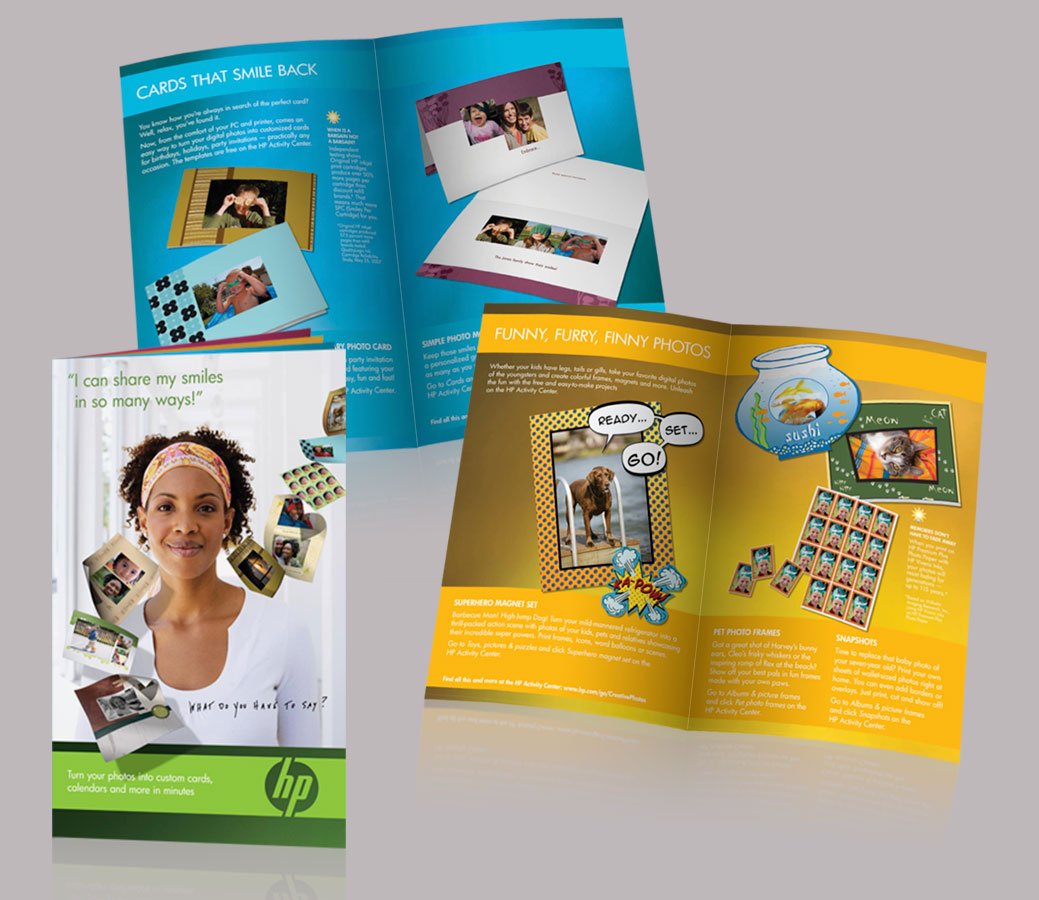 Idea Booklet Featuring HP Activity Center Projects