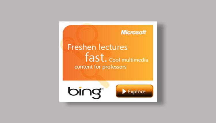 Bing Banner