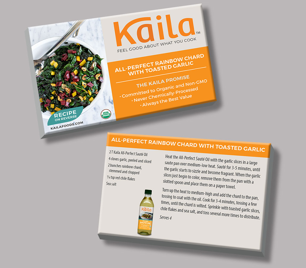Kaila Recipe Card